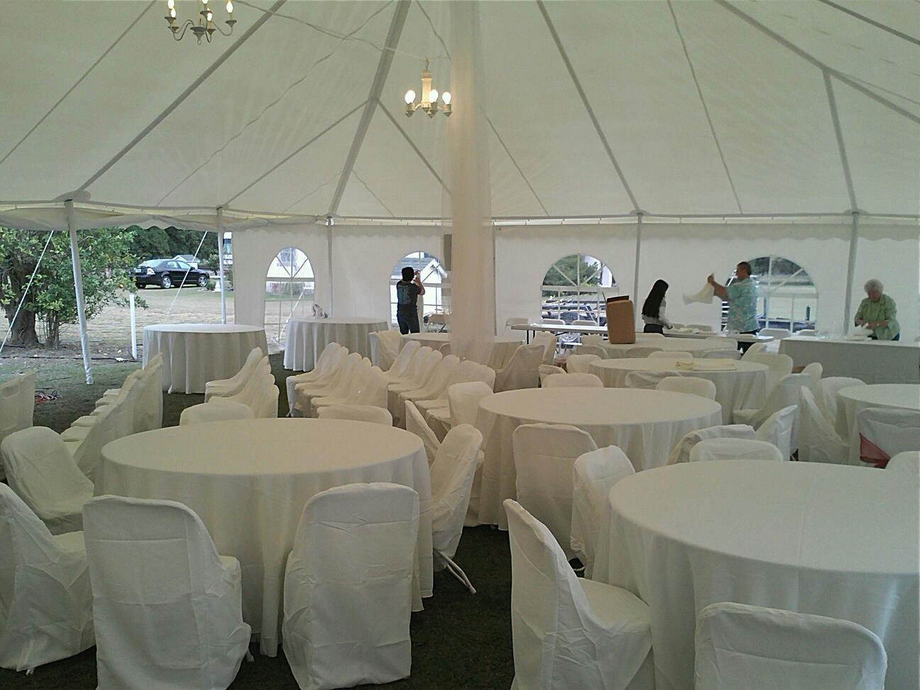 03 Jun 40X80 White wedding tent inside & 40X80 White wedding tent inside | Worldwide Tents