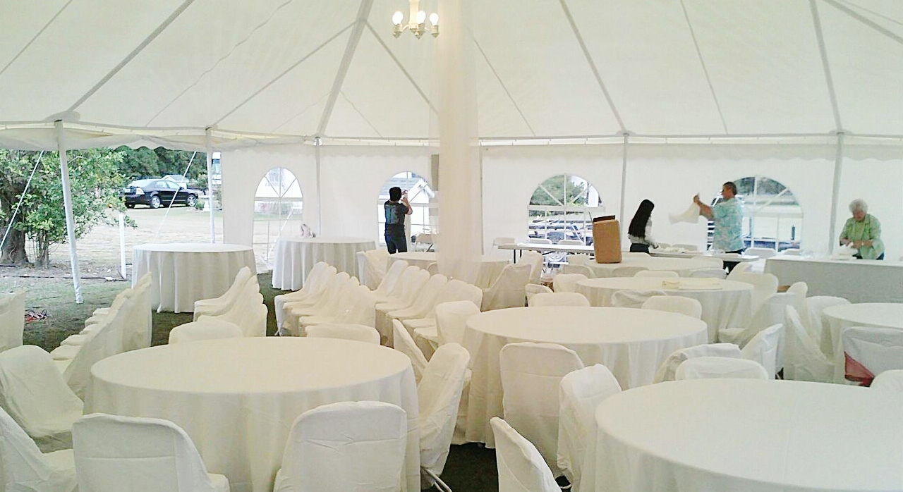 03 Jun 40X80 White wedding tent inside & 40X80 White wedding tent inside | Worldwide Tents