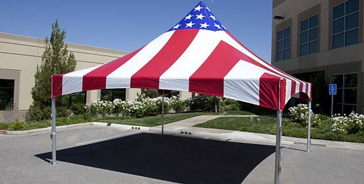 Frame Tents by Worldwide Tents & American Flag Frame Tents For Sale | Worldwide Tents