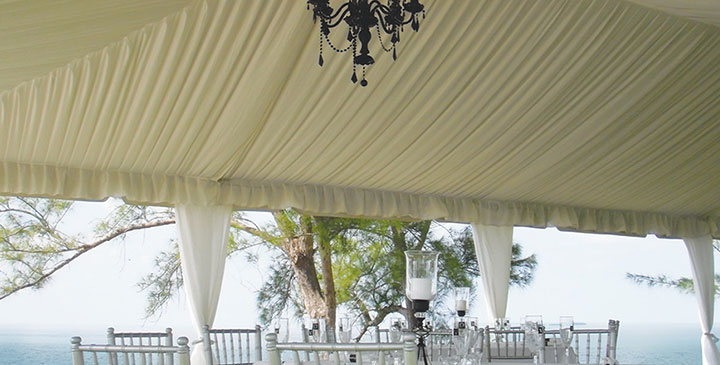 Frame tent by Worldwide Tents
