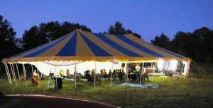 Gospel tents by Worldwide Tents