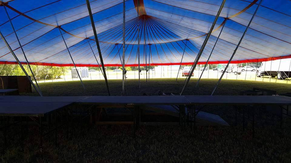 Pole tents by Worldwide tents
