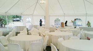 Wedding Pole Tent By Worldwide Tents