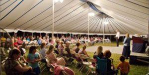 Gospel tents by Worldwide tents