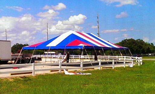 30X50 Pole Tent For Sale