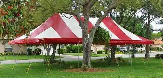 20X40 new pole tents for sale